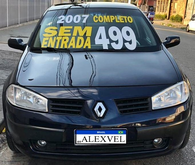 RENAULT MEGANE 1.6 EXPRESSION GRAND TOUR 16V 2007