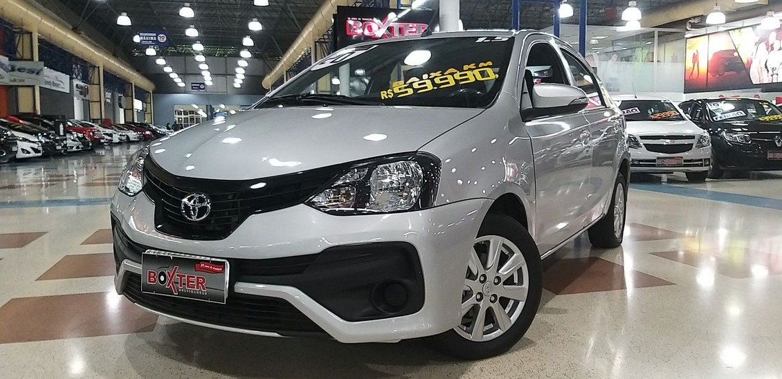 TOYOTA ETIOS 1.5 X PLUS SEDAN 16V 2020