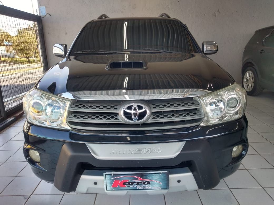 TOYOTA HILUX SW4 3.0 SRV 4X4 7 LUGARES 16V TURBO INTERCOOLER 2009