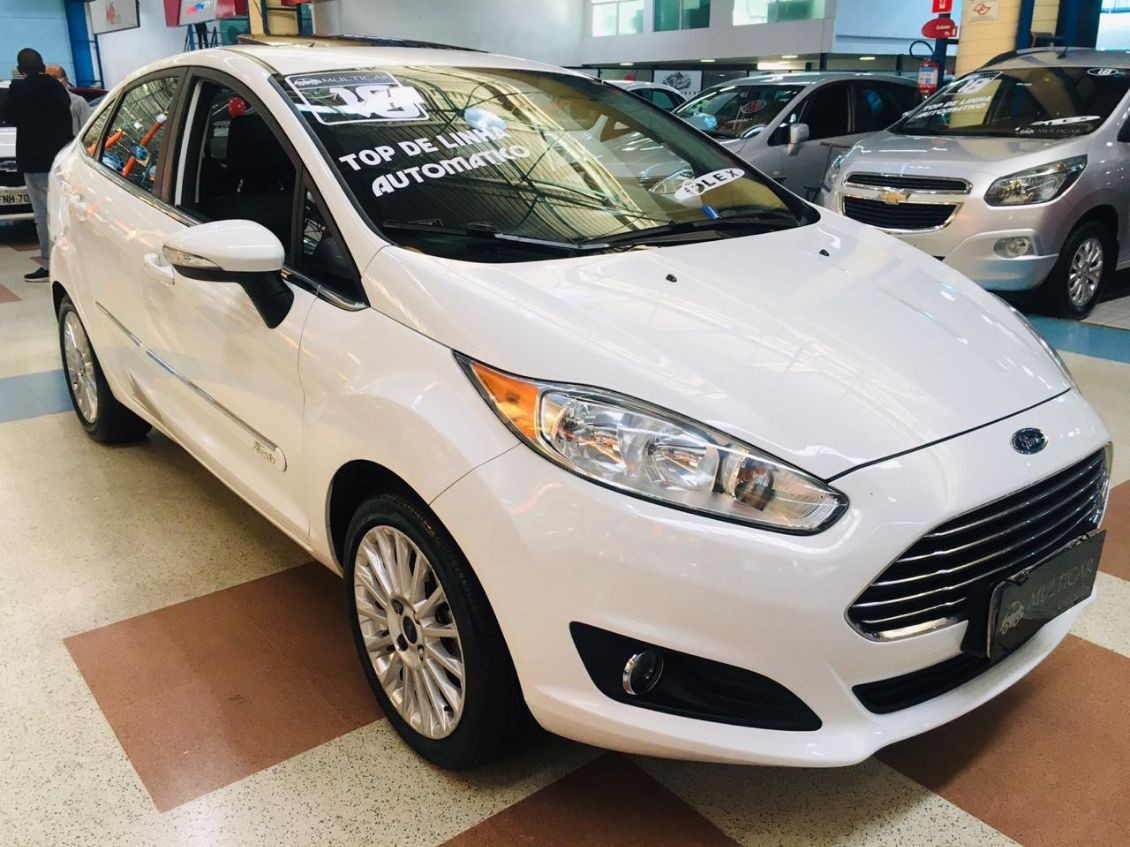 FORD FIESTA 1.6 TITANIUM PLUS SEDAN 16V 2016