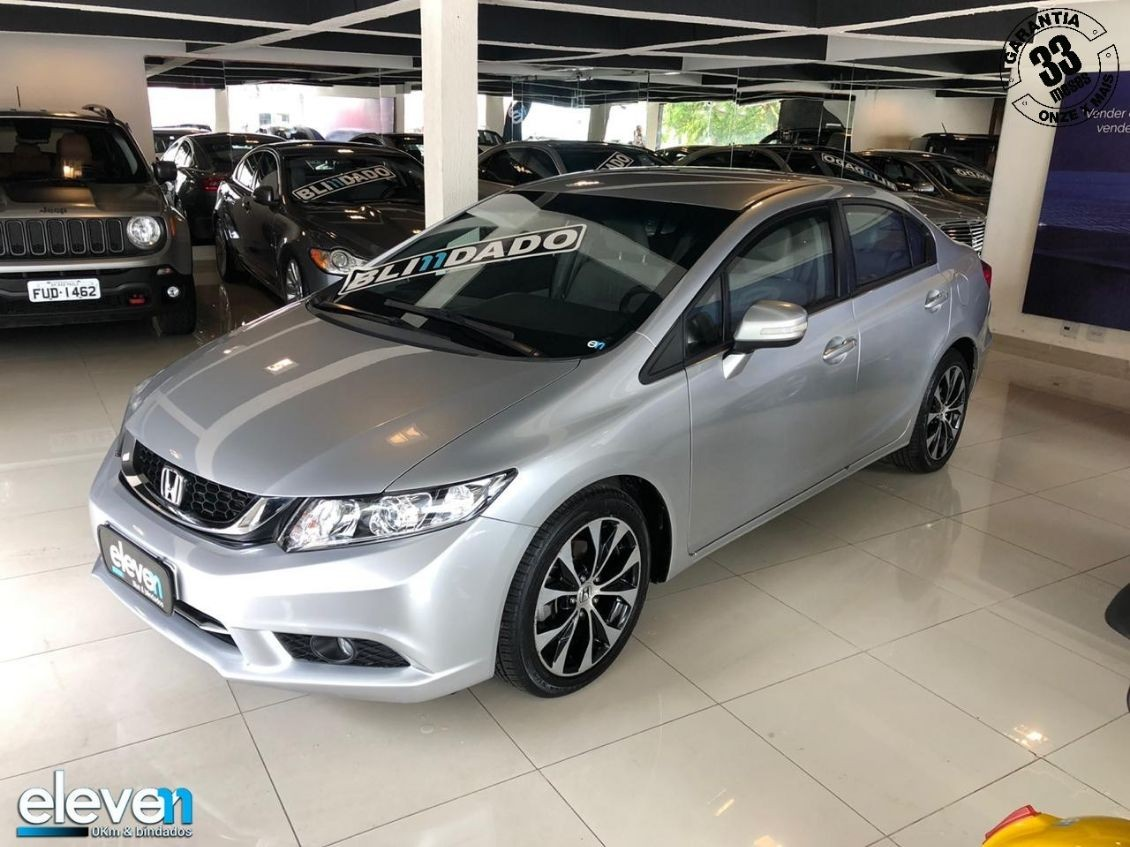 HONDA CIVIC 2.0 LXR 16V 2015