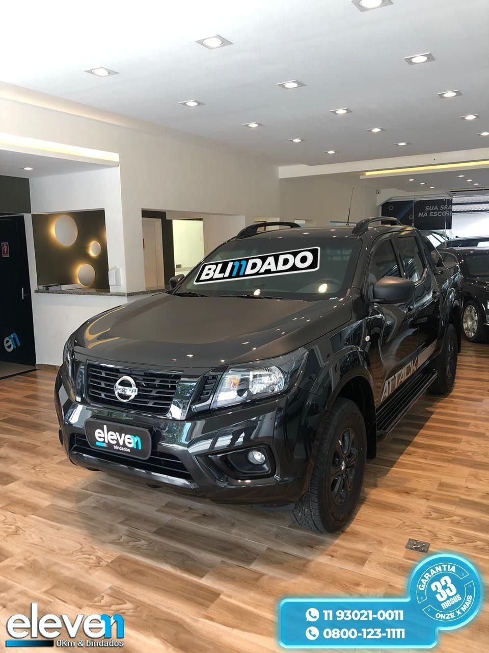 NISSAN FRONTIER 2.3 16V TURBO ATTACK CD 4X4 2020