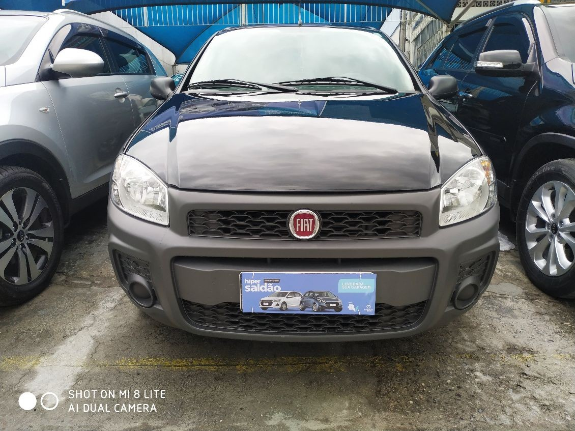 FIAT STRADA 1.4 MPI HARD WORKING CD 8V 2019