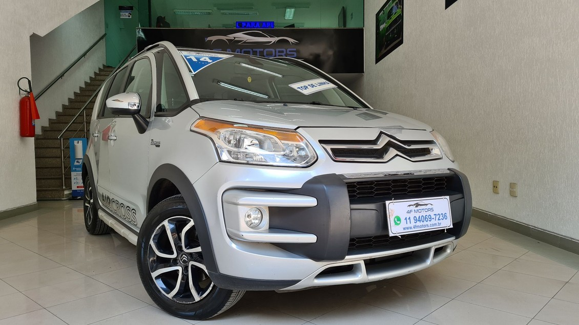 CITROEN AIRCROSS 1.6 EXCLUSIVE ATACAMA 16V 2014