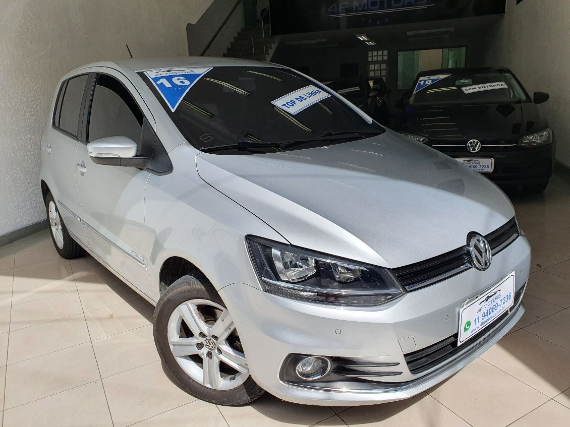 VOLKSWAGEN FOX 1.6 MSI HIGHLINE 16V 2016