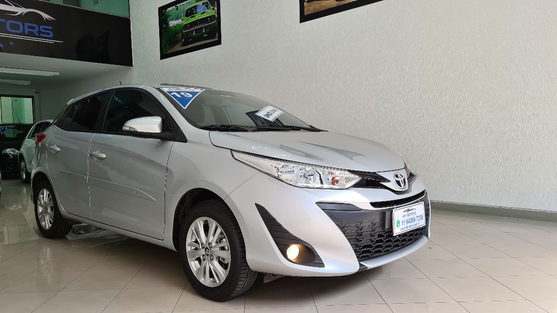 TOYOTA YARIS 1.3 16V XL PLUS TECH MULTIDRIVE 2019