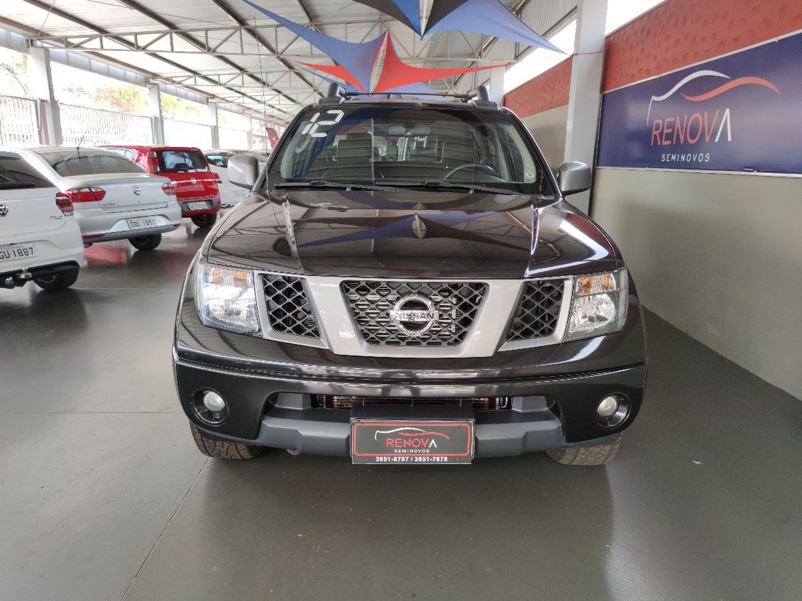NISSAN FRONTIER 2.5 LE ATTACK 4X4 CD TURBO ELETRONIC 2012