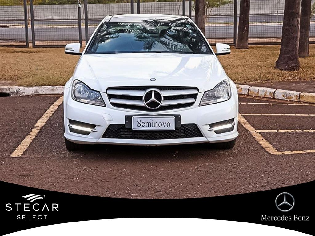 MERCEDES-BENZ C 180 1.6 CGI SPORT COUPE 16V TURBO 2014