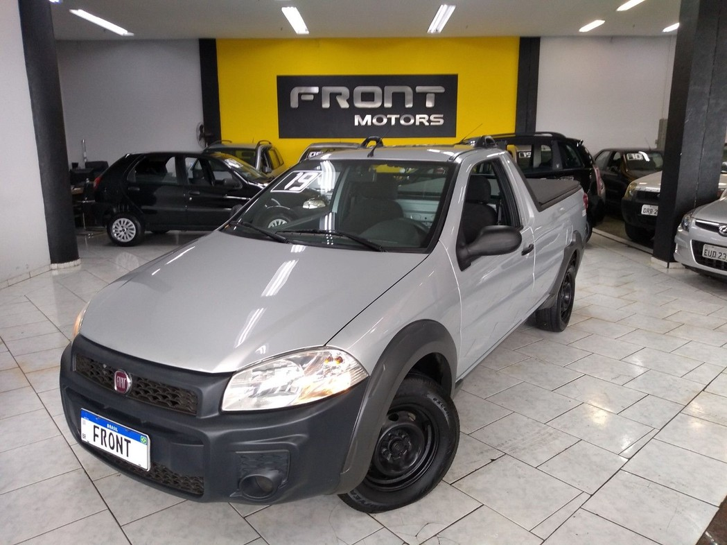 FIAT STRADA 1.4 MPI HARD WORKING CS 8V 2019