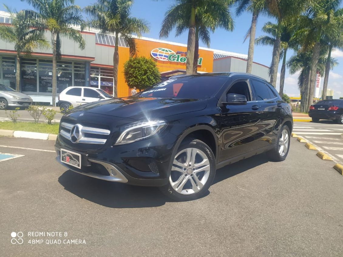 MERCEDES-BENZ GLA 200 1.6 CGI VISION 16V TURBO 2015