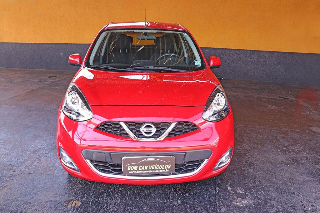 NISSAN MARCH 1.6 SL 16V FLEXSTART 2015