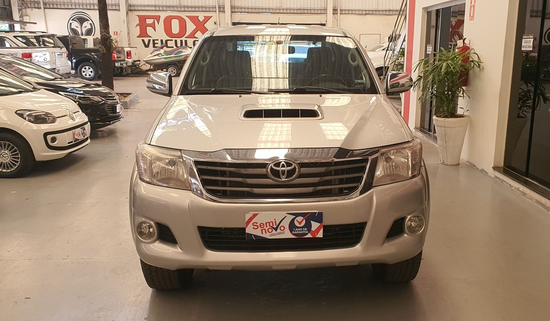 TOYOTA HILUX 3.0 SRV 4X4 CD 16V TURBO INTERCOOLER 2012