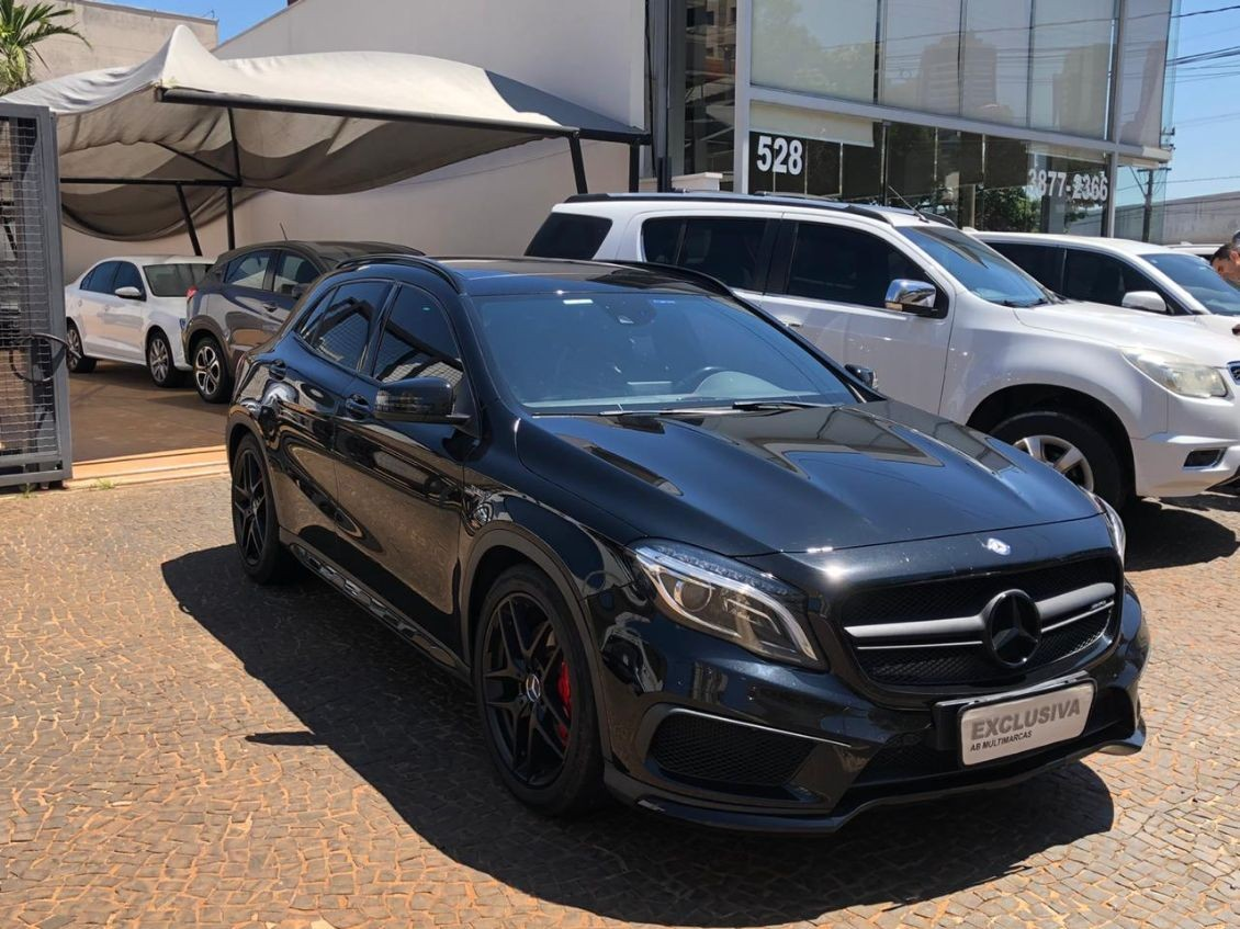 MERCEDES-BENZ GLA 45 AMG 2.0 16V TURBO 2015