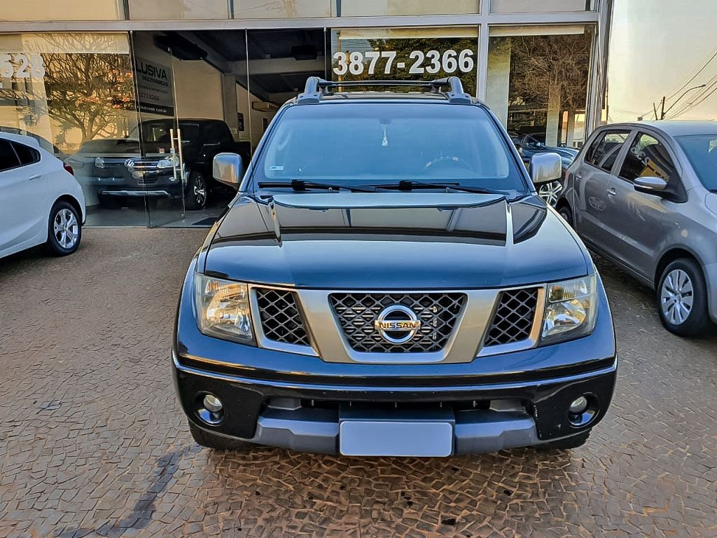 NISSAN FRONTIER 2.5 SE ATTACK 4X4 CD TURBO ELETRONIC 2013
