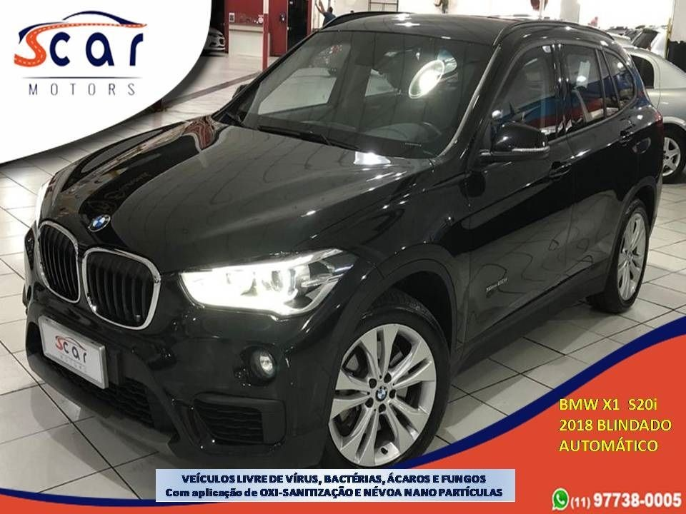 BMW X1 2.0 16V TURBO SDRIVE20I 2018