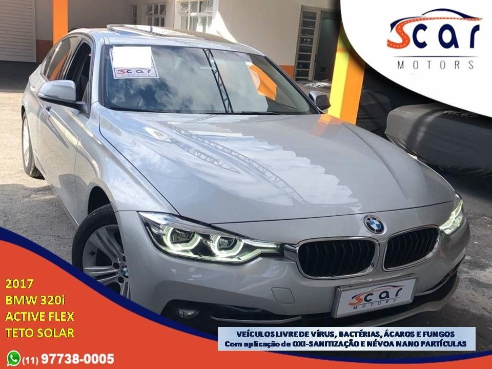 BMW 320I 2.0 M SPORT GP 16V TURBO ACTIVE 2017