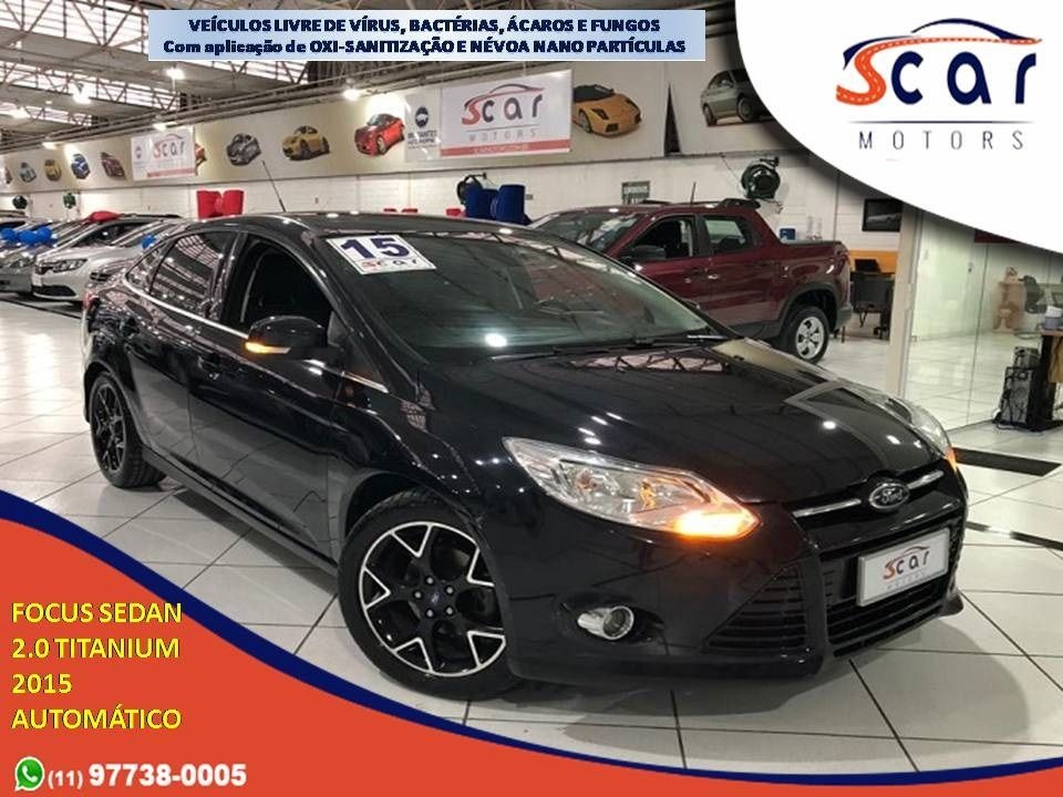 FORD FOCUS 2.0 TITANIUM SEDAN 16V 2015