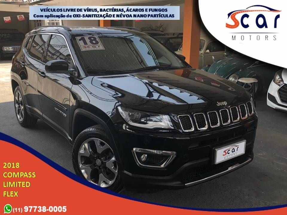 JEEP COMPASS 2.0 16V LIMITED 2018