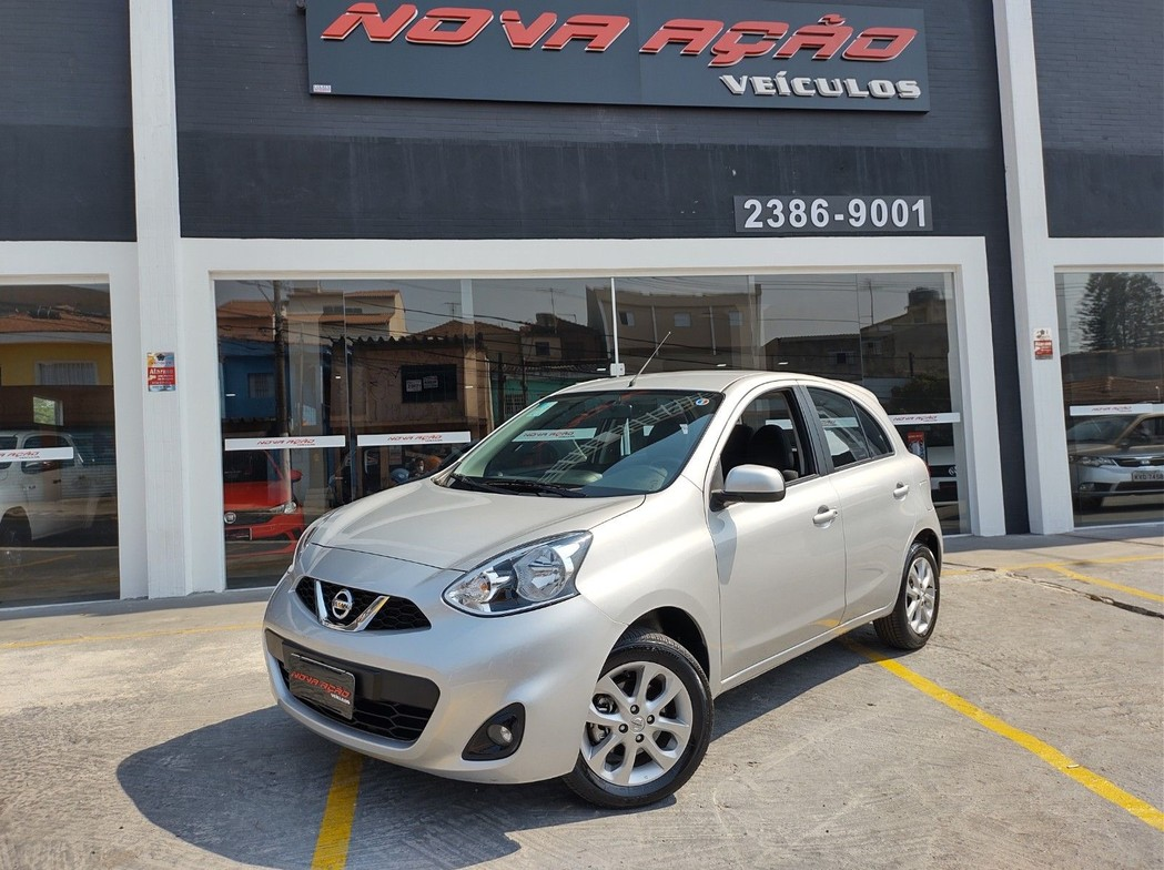 NISSAN MARCH 1.6 SV 16V FLEXSTART 2020
