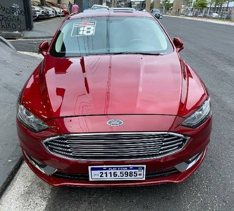 FORD FUSION 2.0 SEL 16V 2018