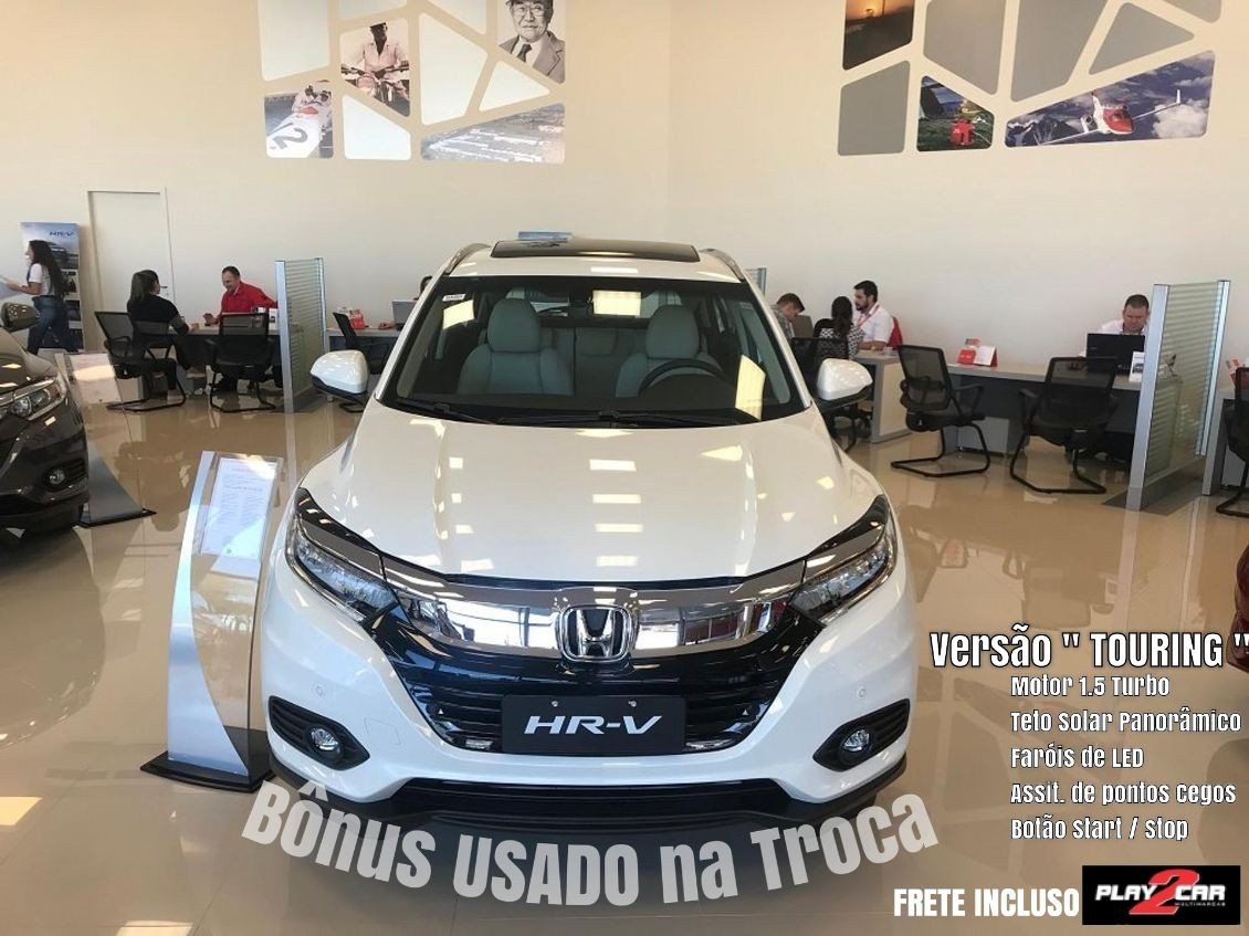 HONDA HR-V 1.5 16V TURBO TOURING 2020