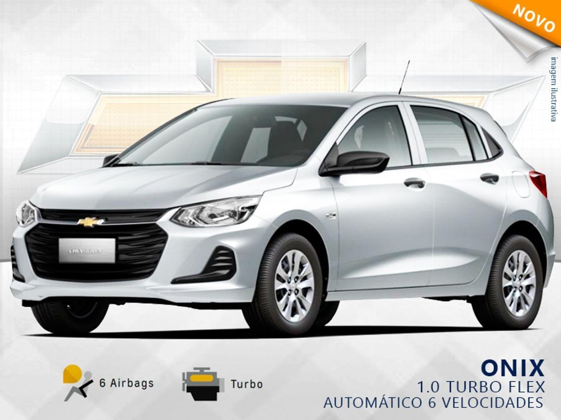 CHEVROLET ONIX 1.0 TURBO 2020
