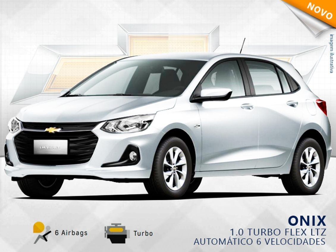CHEVROLET ONIX 1.0 TURBO LTZ 2020
