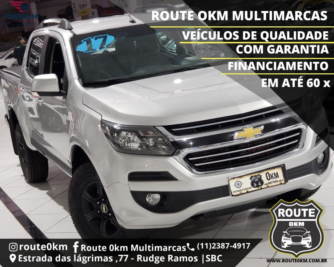 CHEVROLET S10 2.8 LT 4X4 CD 16V TURBO 2017
