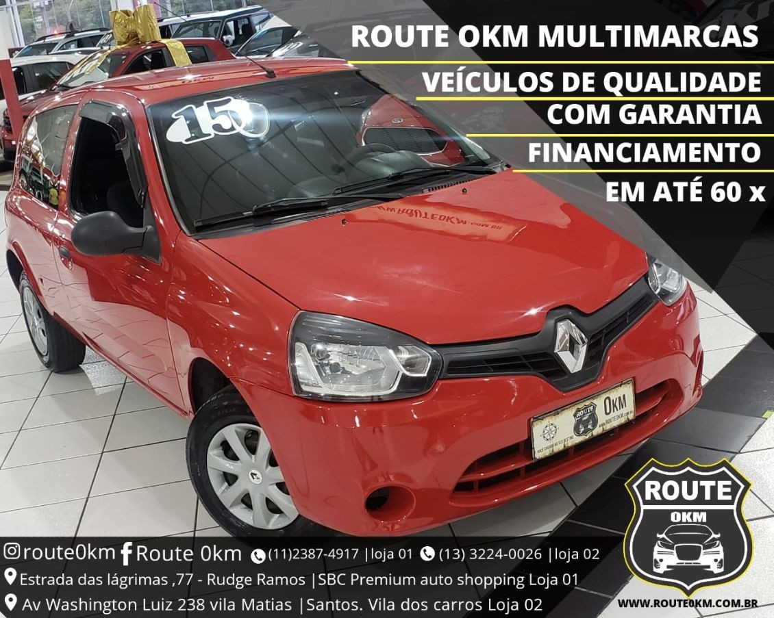 RENAULT CLIO 1.0 AUTHENTIQUE 16V 2015
