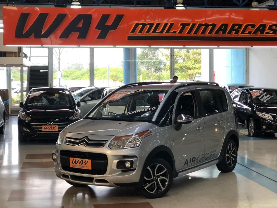 CITROEN AIRCROSS 1.6 EXCLUSIVE 16V 2013