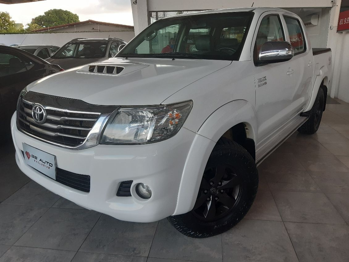 TOYOTA HILUX 3.0 SRV 4X4 CD 16V TURBO INTERCOOLER 2015
