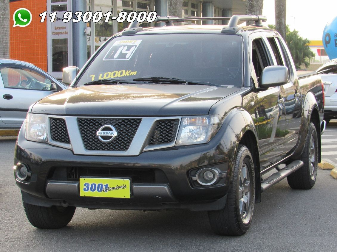 FRONTIER 2.5 SV ATTACK 4X4 CD TURBO ELETRONIC