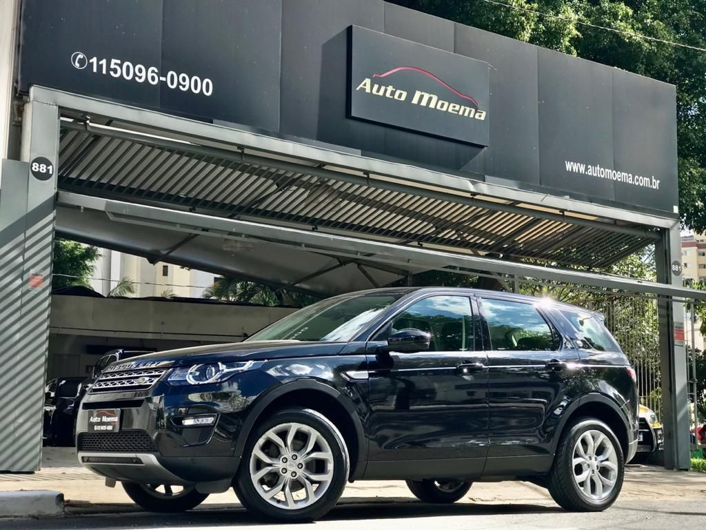 LAND ROVER DISCOVERY SPORT 2.0 16V SI4 TURBO HSE 7 LUGARES 2016