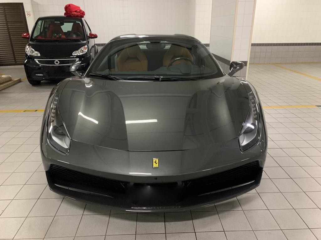 FERRARI 488 SPIDER 3.9 V8 TURBO DCT 2018
